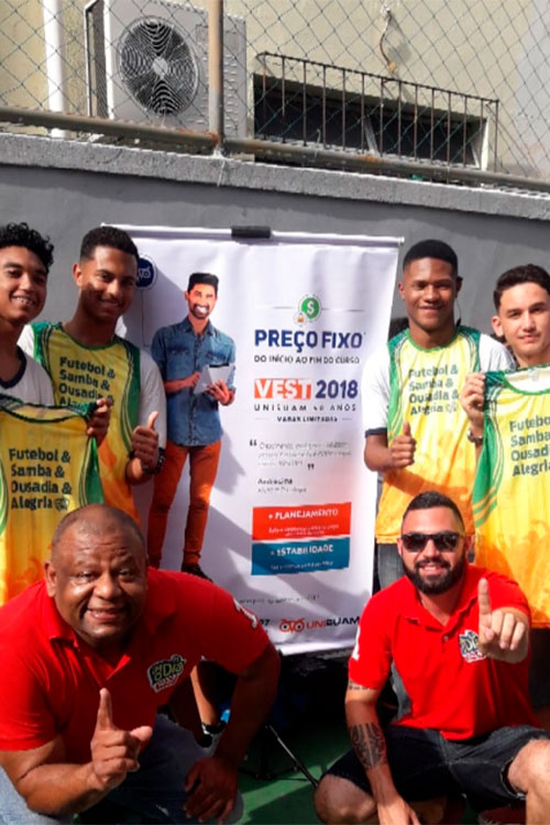 9bc58404a Colégio Primeiro de Maio - Maracanã - Promoção Bota Pra Aquecer da ...