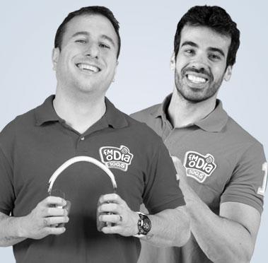DJ Tubarão e Dedé Galvão