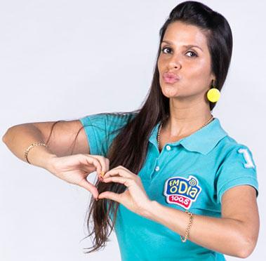 Equipe FM O Dia - Kelly Jorge