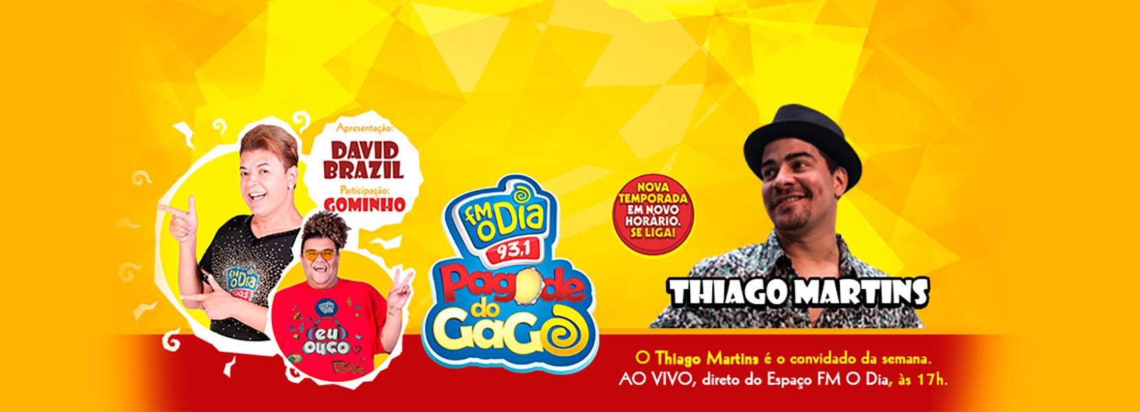 Pagode do Gago com David Brazil e convidados