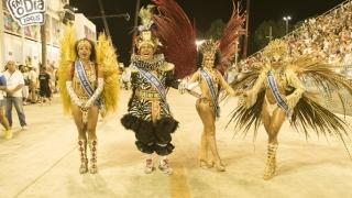 Abertura dos Desfiles na Sapuca�