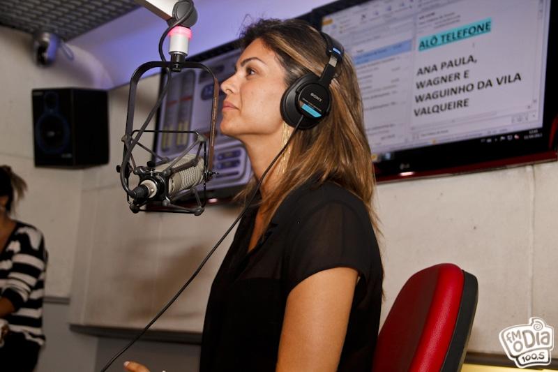 Foto: Kelly Key no Estúdio com Orelhinha na Semana Maluquinha