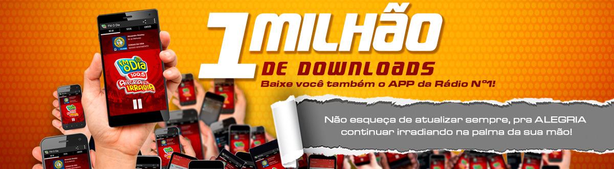 1 milhão de downloads