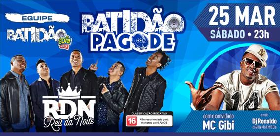 Batidao com Pagode Riosampa RDN