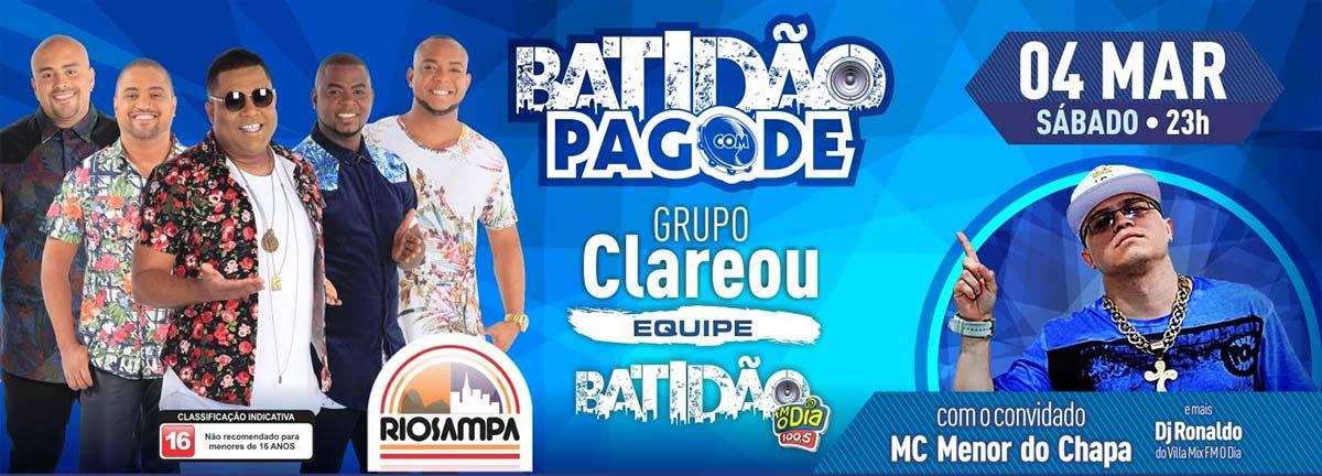 Batidão com Pagode, na Riosampa