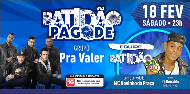 Batidão com Pagode na Riosampa