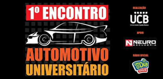 1 Encontro Automotivo Universitario