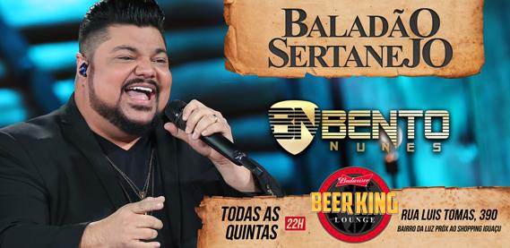 Baladão Sertanejo, no Beer King