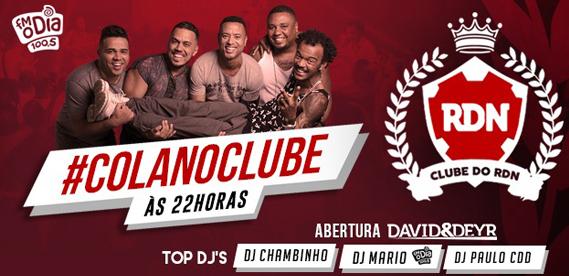 Clube do RDN 26 Mar