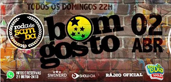Roda de Samba Bom Gosto - 2 Abr Tradicao