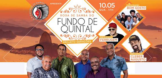 Roda de Samba Fundo de Quintal