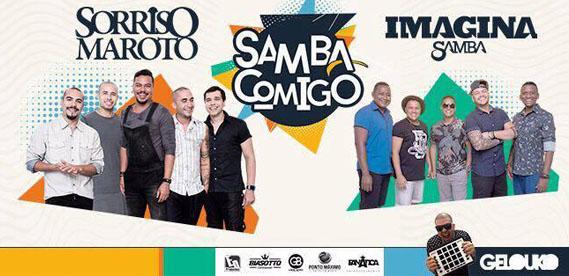 Samba Comigo Sorriso Maroto e Imagina Samba na Viradouros