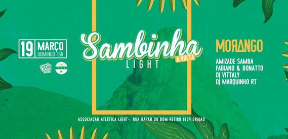 Sambinha Light - A Volta