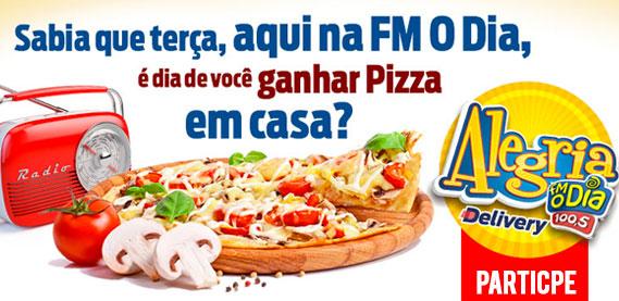 Promoção Alegria Delivery FM O Dia