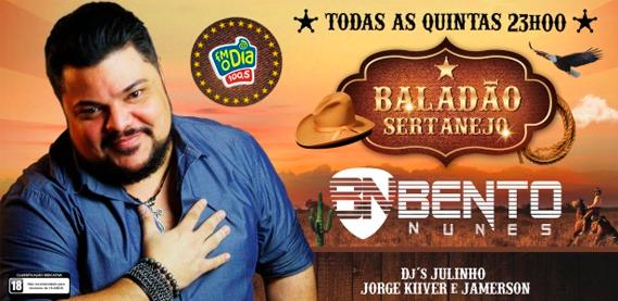 Baladão Sertanejo com Bento Nunes