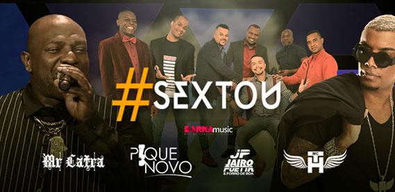 Sextou no Barra Music com Mr. Catra, Pique Novo e MC TH