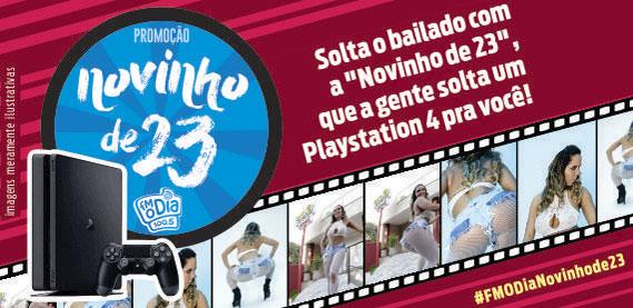 Promoção Novinho de 23, com Mulher Melão