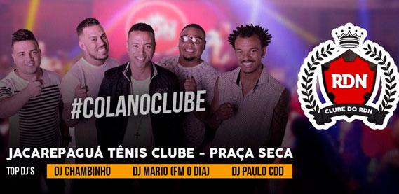 Reis da Noite, no Jacarepaguá Tênis Clube