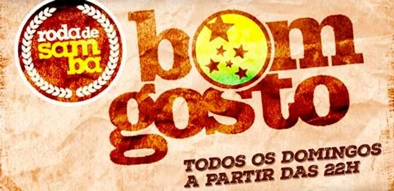 Roda de Samba do Bom Gosto na Tradição Show