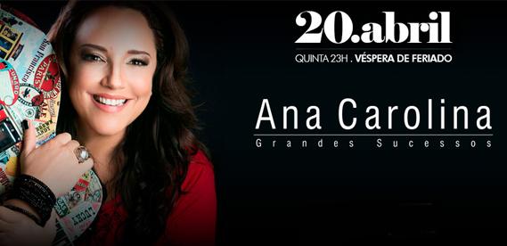 Ana Carolina Grandes Sucessos no Barra Music