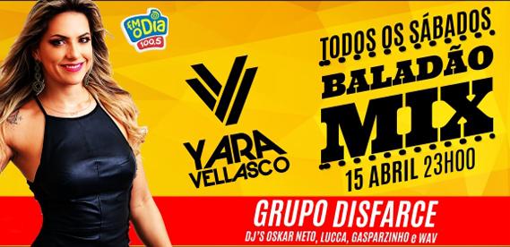 Baladao Mix na Riosampa com Yara Vellasco