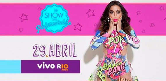 Show das Poderosinhas, no Vivo Rio