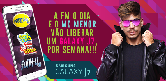 Galaxy J7 - Mc Menor