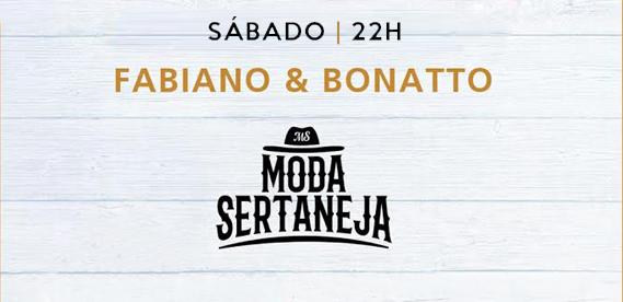 Moda Sertaneja Fabiano e Bonatto