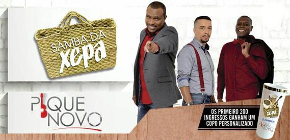Samba da Xepa com Pique Novo