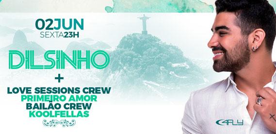 Show Dilsinho no Barra Music