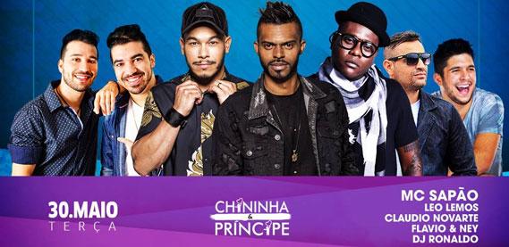 Terçaneja no Espetto Carioca Lounge, com Chininha e Príncipe e Sapão