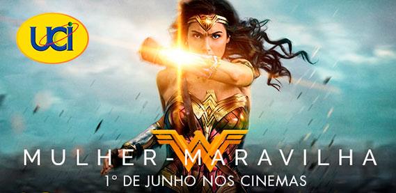 Filme Mulher Maravilha, no UCI