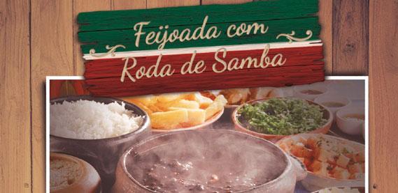 Feijoada com Roda de Samba, no Fluminense