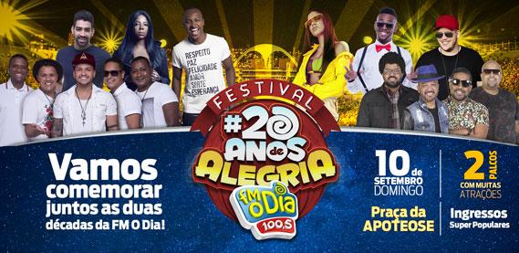 Festival 20 Anos de Alegria da FM O Dia
