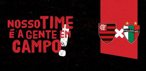 Flamengo vs Palestino Chile