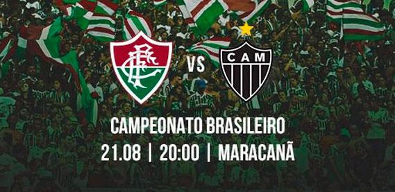 Fluminense x Atlético-MG pelo Campeonato Brasileiro