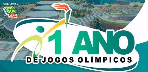 1 Ano de Jogos Olímpicos
