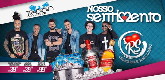 I Love Roda de Samba no Tradição