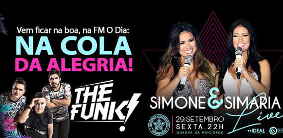 Promoção Na Cola da Alegria com The Funk