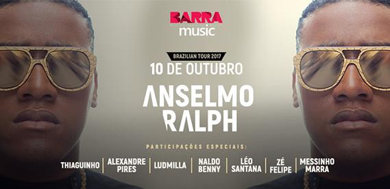 Anselmo Ralph no Barra Muisc