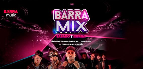 Barra Mix com Tops Djs