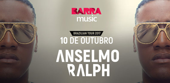 Turnê Anselmo Ralph, no Barra Music