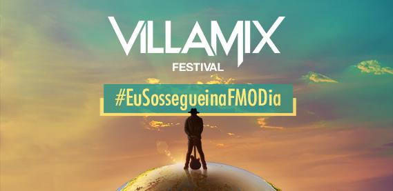 Eu Sosseguei na FM O Dia - Villa Mix Fortaleza
