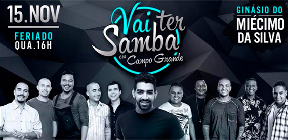 Vai Ter Samba em Campo Grande
