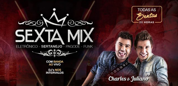 Sexta Mix, no Rei do Bacalhau