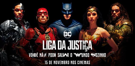 Liga da Justiça - Pré lançamento