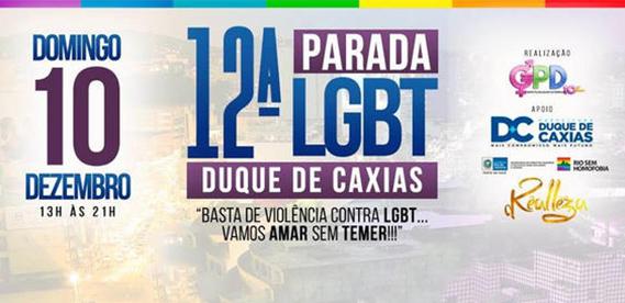 12ª Parada LGBT Duque de Caxias