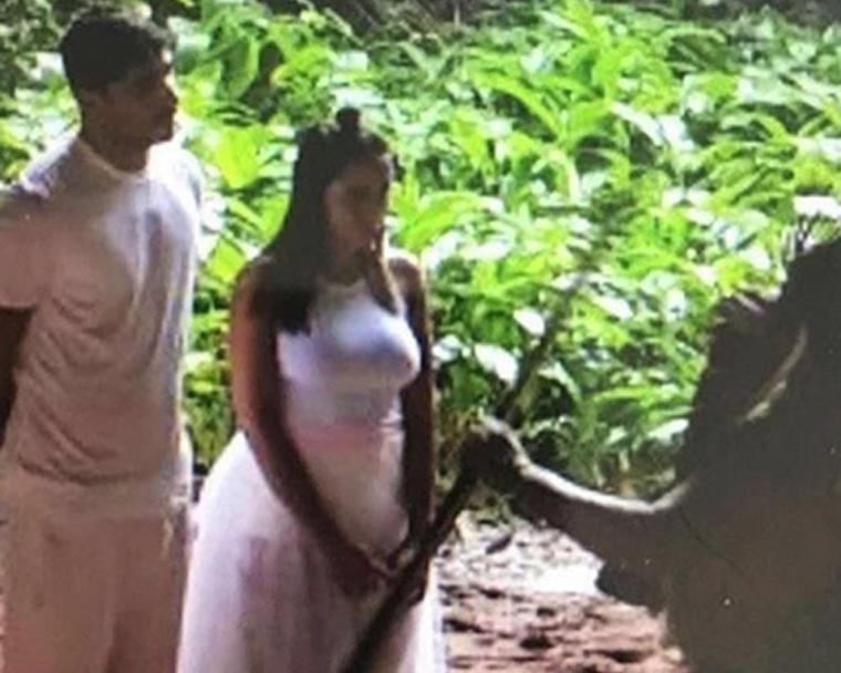 Cerimônia de casamento da Anitta