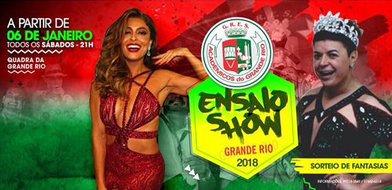 Ensaio Show da Grande Rio
