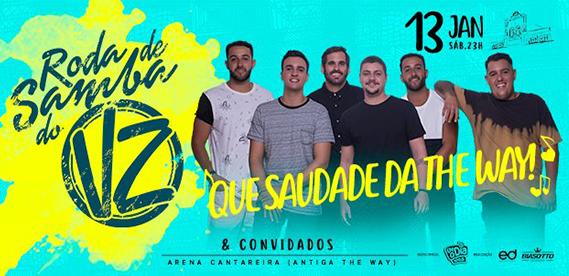 Roda de Samba do Vou Zuar, na The Way